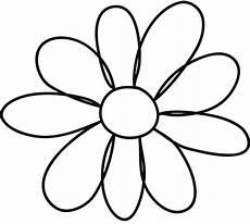 Printable Flower Petal Template Clipart Best