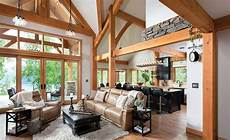living rooms with great timber frame great room photos by riverbend