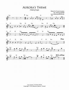 s theme from quot child of light quot lead sheet child of light sheet music sheethost
