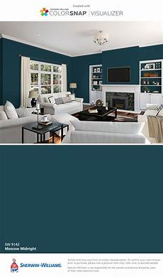 image result for sherwin williams moscow midnight used