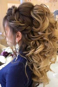 Curly Hair Prom
