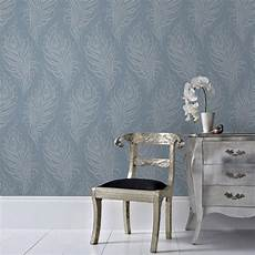 graham brown blue quill removable wallpaper 33 321 the