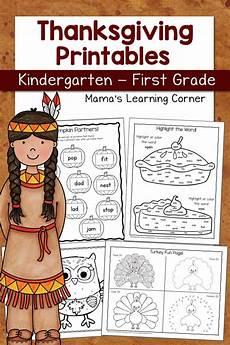 thanksgiving worksheets 18483 thanksgiving worksheet packet for kindergarten and grade mamas learning corner