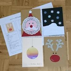 ideenreise weihnachtskartenbastelei kleine