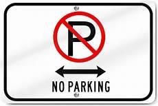 Horizontal No Parking Driveway Sign Ebay