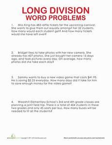 equation word problems worksheet 4th grade 11463 division word problems division word problems and equation