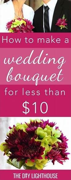 how to make an easy and cheap diy wedding bouquet cheap wedding bouquets inexpensive wedding