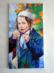 child painting art large by art4heart2014 judaica art art painting