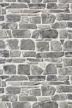 stein muster tapete tapete rasch 265620 steintapete grau