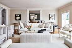 get the warm white living room design with unfussy sophisticated style hello lovely