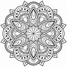 Malvorlage Blumen Mandala 1001 Ideen Und Bilder Zum Thema Mandala Blumen Mandala