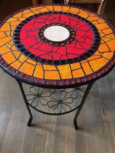 mosaiktisch garten mosaik tisch beistelltisch garten bistrotisch