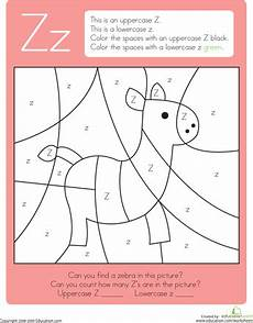 letters a z worksheets for kindergarten 24665 color by letter capital and lowercase z letter r crafts letter a crafts alphabet activities