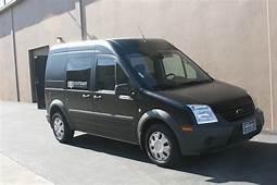 Ford Transit Connect Matte Black Vehicle Wrap  Costa Mesa CA