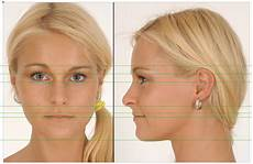 female model front and side head side front view google 搜尋 head reference