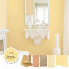 classic yellow paint color tuscan sun can add a cahrming brightness to your space get this