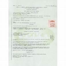 certificato di iscrizione alla di commercio certificato camerale