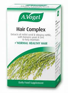 hair complex from a vogel for strong healthy hair