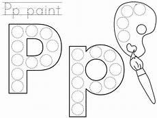 printable dotted letter worksheets 23751 do a dot letter p printable letter p crafts do a dot letter a crafts