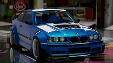 bmw e36 tuning bmw m3 e36 rocket bunny add on tuning gta5 mods