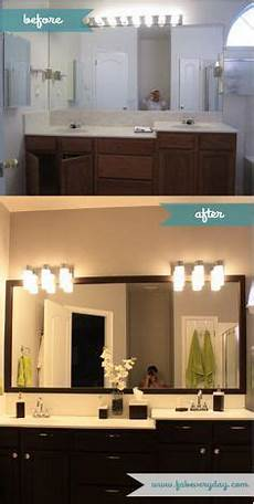 diy master bathroom makeover on a budget from builder grade to contemporary home remodeling