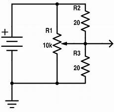 S Curve Using Linear Potentiometer Without Power