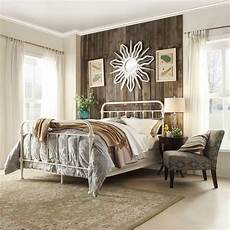 White Metal Bed Bedroom Ideas by Homesullivan Calabria White King Bed Frame 40e411bk 1wbed