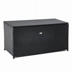 kiste für auflagen rattan auflagenbox box polyrattan gartenbox kissenbox