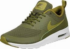 nike air max thea txt w shoes olive green