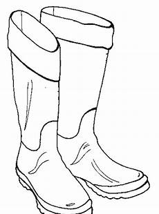 boots coloring page coloring home