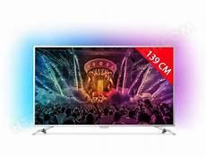 tv 139 cm philips 55pus6581 12 tv led 4k 139 cm livraison gratuite
