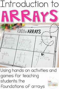 rectangular array division 4th grade worksheets 6701 introduction to arrays third grade math 2nd grade math teaching multiplication