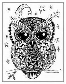 Eulen Malvorlagen Instagram Bildergebnis F 252 R Zentangle Owl совы Eule Eulen