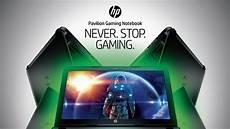 negozio di gabbo never stop gaming la vera sfida si gioca con hp pavilion