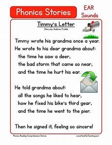 reading comprehension worksheet timmy s letter