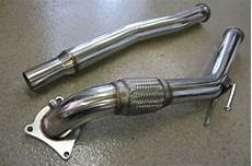 el cheapo modular downpipe set up vw gti mkvi forum vw
