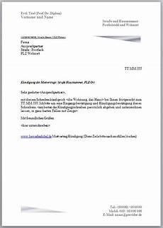kündigungsfrist wohnung 3 monate k 252 ndigung mietvertrag vorlage muster k 252 ndigungsschreiben