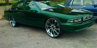 CHEVY IMPALA SITTING JUST RIGHT ON 26 INCH Forgiato Wheels