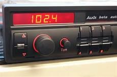 Audi Beta Radio Wieder Anschlie 223 En Audi 80 Allgemein