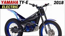 new 2018 yamaha ty e electric bike powered by an ac