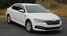 2019 Skoda Superb Facelift Leaks In China With Minimal