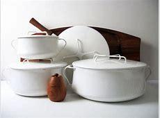 Rare DANSK Kobenstyle White Enamelware Collection   4