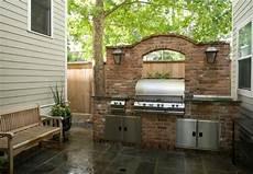 Küchen Selber Bauen Ideen - garten grill selber bauen coole idee beleuchtung gem 252 tlich