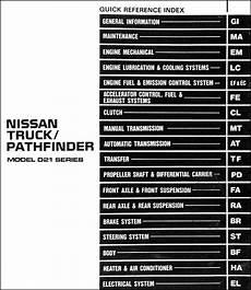 car repair manuals online pdf 1992 nissan pathfinder instrument cluster 1992 nissan truck and pathfinder repair shop manual original