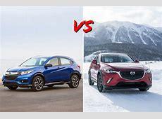 2019 Honda HR V vs. 2019 Mazda CX 3: Head to Head   U.S