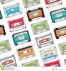 cassetta musica modello senza cuciture cassetta di plastica cassetta