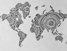 Malvorlagen Map I Want To Travel The World Someday I M Going To Travel
