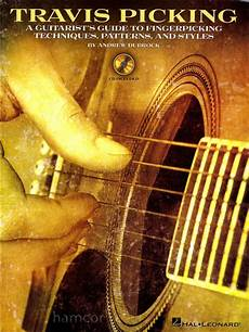 guitar picking technique travis picking a guitarist s guide to guitar fingerpicking techniques patterns ebay