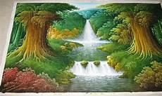 Jual Lukisan Air Terjun Motif Minimalis Dan Modern Di