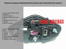 wiring diagram speedometer new megapro child blog garasi modifikasi